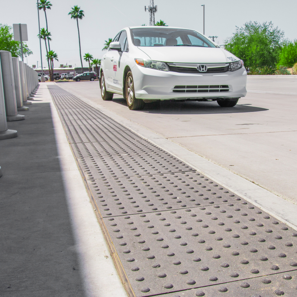 Sidewalks & Curb Ramps | Tekway High Performance ADA Tiles
